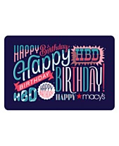 Happy Birthday E-Gift Card 45d6aa0ac