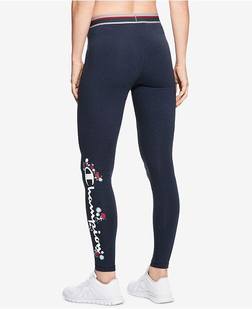 b7cf18b1c2cd Champion Graphic Leggings   Reviews - Pants   Capris - Women - Macy s