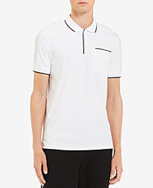 Calvin Klein Men's Tipped Pocket Polo