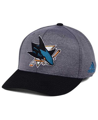 adidas San Jose Sharks Shortside Flex Cap