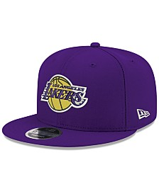 New Era Boys' Los Angeles Lakers Basic Link 9FIFTY Snapback Cap