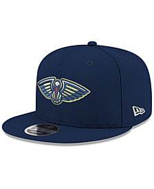 New Era Boys' New Orleans Pelicans Basic Link 9FIFTY Snapback Cap