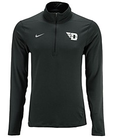 Men's Dayton Flyers Heather Dri-FIT Element Quarter-Zip Pullover