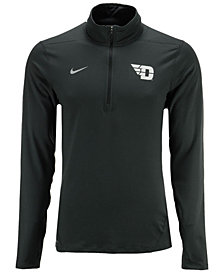 Nike Men's Dayton Flyers Heather Dri-FIT Element Quarter-Zip Pullover