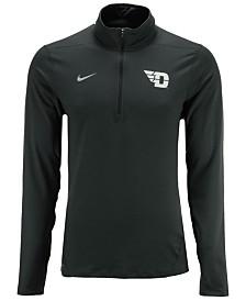 Nike Men's Dayton Flyers Heather Dri-FIT Element Quarter-Zip Pullover