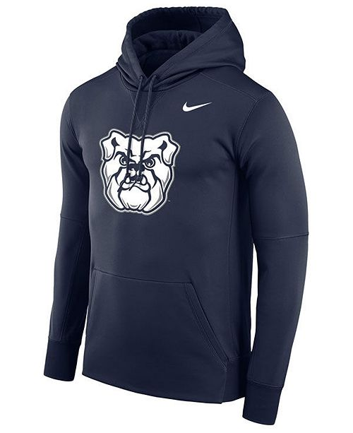 Nike Men's Butler Bulldogs Therma Logo Hoodie