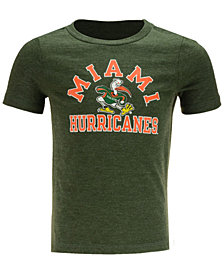 Retro Brand Miami Hurricanes Dual Blend T-Shirt, Toddler Boys