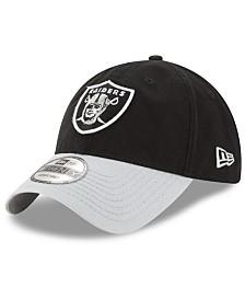 New Era Oakland Raiders Relaxed 2Tone 9TWENTY Strapback Cap