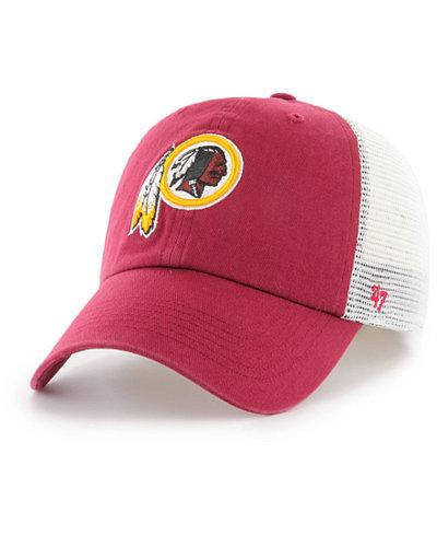 '47 Brand Washington Redskins NFL Deep Ball Mesh '47 CLOSER Cap