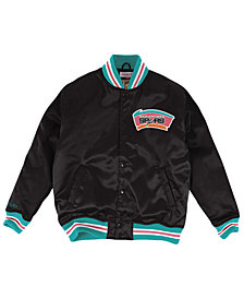 Mitchell & Ness Men's San Antonio Spurs Satin Jacket