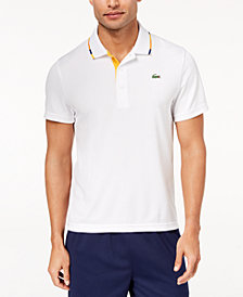 Lacoste Men's Solid Ultra-Dry Performance Polo