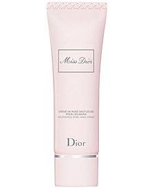 Dior Miss Dior Nourishing Rose Hand Creme, 1.7-oz.