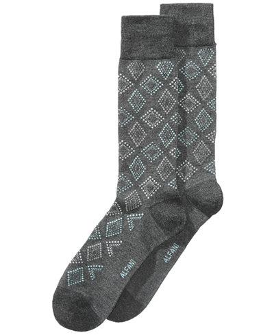 Alfani Men's Dot Diamond Socks, Created for Macy's