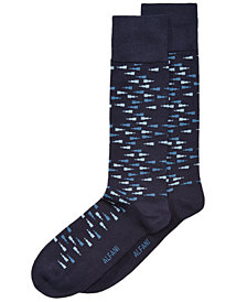 Alfani Men's Scattered Triangles Dress Socks, Created for Macy's