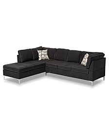 Bistan 2-Pc. Sofa Sectional, Quick Ship