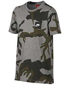 Nike Graphic-Print Cotton T-Shirt, Big Boys