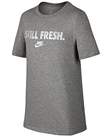 Nike Graphic-Print Cotton T-Shirt, Big Boys