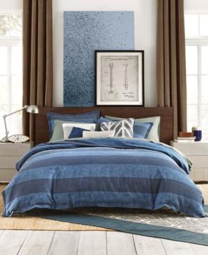 Tommy Hilfiger Cabana Stripe 3Pc FullQueen Duvet Cover Set Bedding