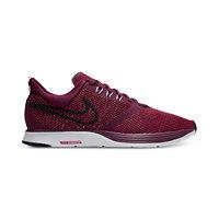 Nike Women's Zoom Strike Running Shoe (Bordeaux/Black Rush Maroon White)