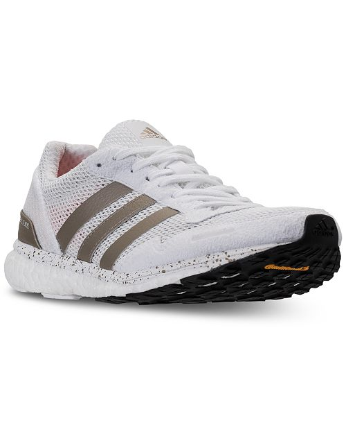289db425c80a adidas Women s Adizero Adios 3 Running Sneakers from Finish Line ...