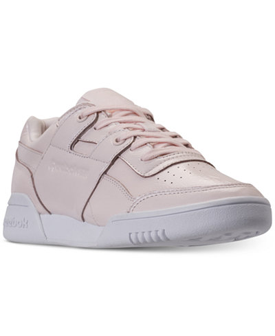 Reebok Women's Workout Plus Iridescent Casual Sneakers from Finish Line