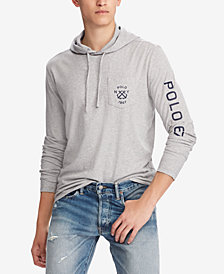Polo Ralph Lauren Men's Custom Slim Fit Hooded T-Shirt
