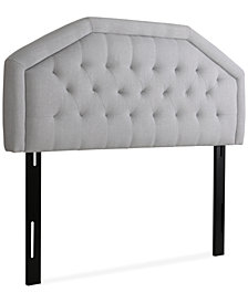 Justene Adjustable Full/Queen Headboard, Quick Ship
