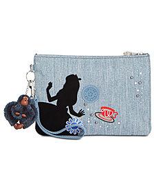 Kipling Disney's® Alice in Wonderland Denim Electronico Wristlet
