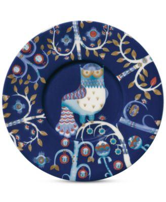 Taika Blue Tea Saucer