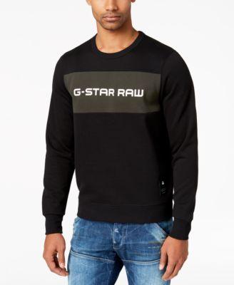 G-Star Men\u0027s Swando Logo Sweatshirt, Created for Macy\u0027s