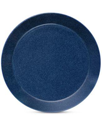 Teema Dotted Blue Dinner Plate