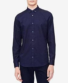 Calvin Klein Men's Herringbone Texture Shirt