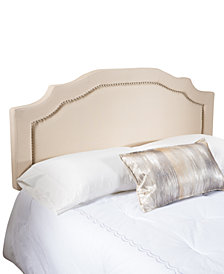 Hardel Adjustable Full/Queen Headboard, Quick Ship