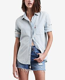 Levi's® Ryan Cotton Boyfriend Shirt