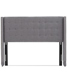 Dilard Adjustable Full/Queen Headboard, Quick Ship
