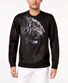 GUESS Men's Graphic-Print Sweatshirt