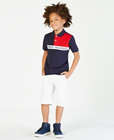 Tommy Hilfiger Colorblocked Polo, Big Boys