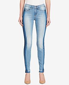 Jessica Simpson Juniors' Kiss Me Ripped Super Skinny Jeans