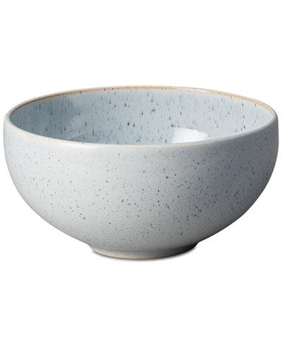 Denby Studio Craft Blue Pebble Ramen/Large Noodle Bowl
