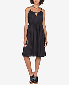 Volcom Juniors' Keyhole Fit & Flare Dress