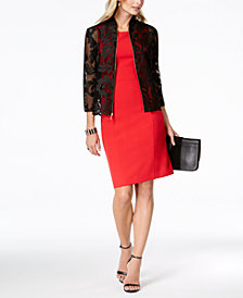 Kasper Lace Jacket & Sheath Dress