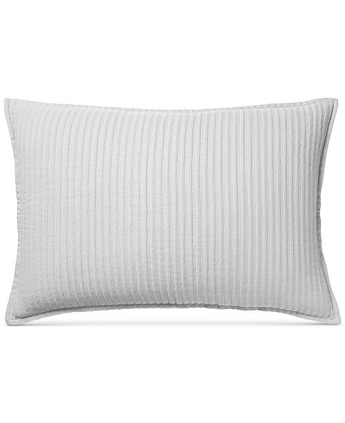 Hotel Collection CLOSEOUT! Mattelasse Quilted King Sham, Created for Macy's