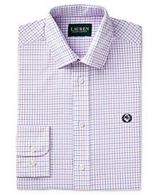 Check-Print Dress Shirt, Big Boys