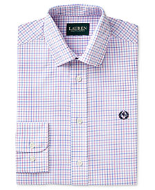 Lauren Ralph Lauren Check-Print Dress Shirt, Big Boys