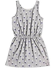 Roxy Fearless Friends Cotton Dress, Big Girls