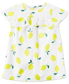 Carter's Lemon-Print Dress, Little Girls & Big Girls