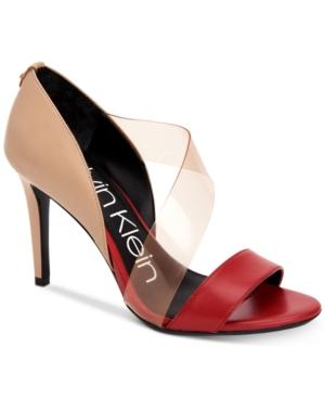 94c59c2ed5e Women'S Nariela Detailed Pumps Women'S Shoes, Crimson Red