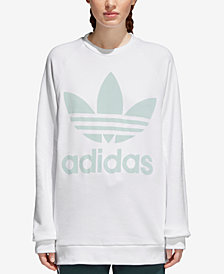 adidas Originals adicolor Over-Sized Trefoil Sweatshirt