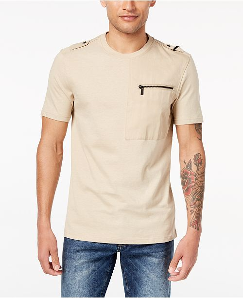8fc4f411aeec ... Sean John Men s Zip-Pocket Flight T-Shirt