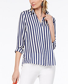 I.N.C. Striped Shirt, Created for Macy's